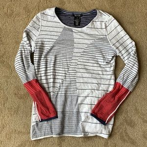 Nic + Zoe reversible sweater